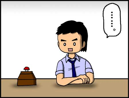 「運命のボタン」感想漫画コマ3